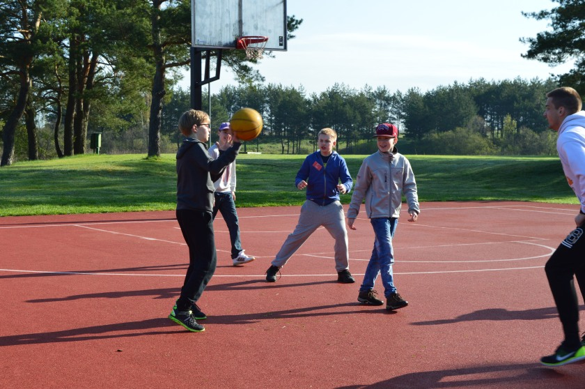 Reaching the young generation through Sport!
